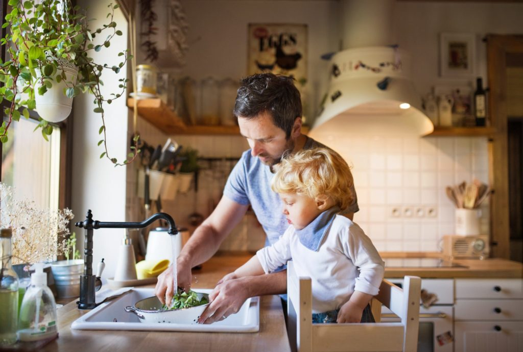 Fussy eater, cooking with toddlers