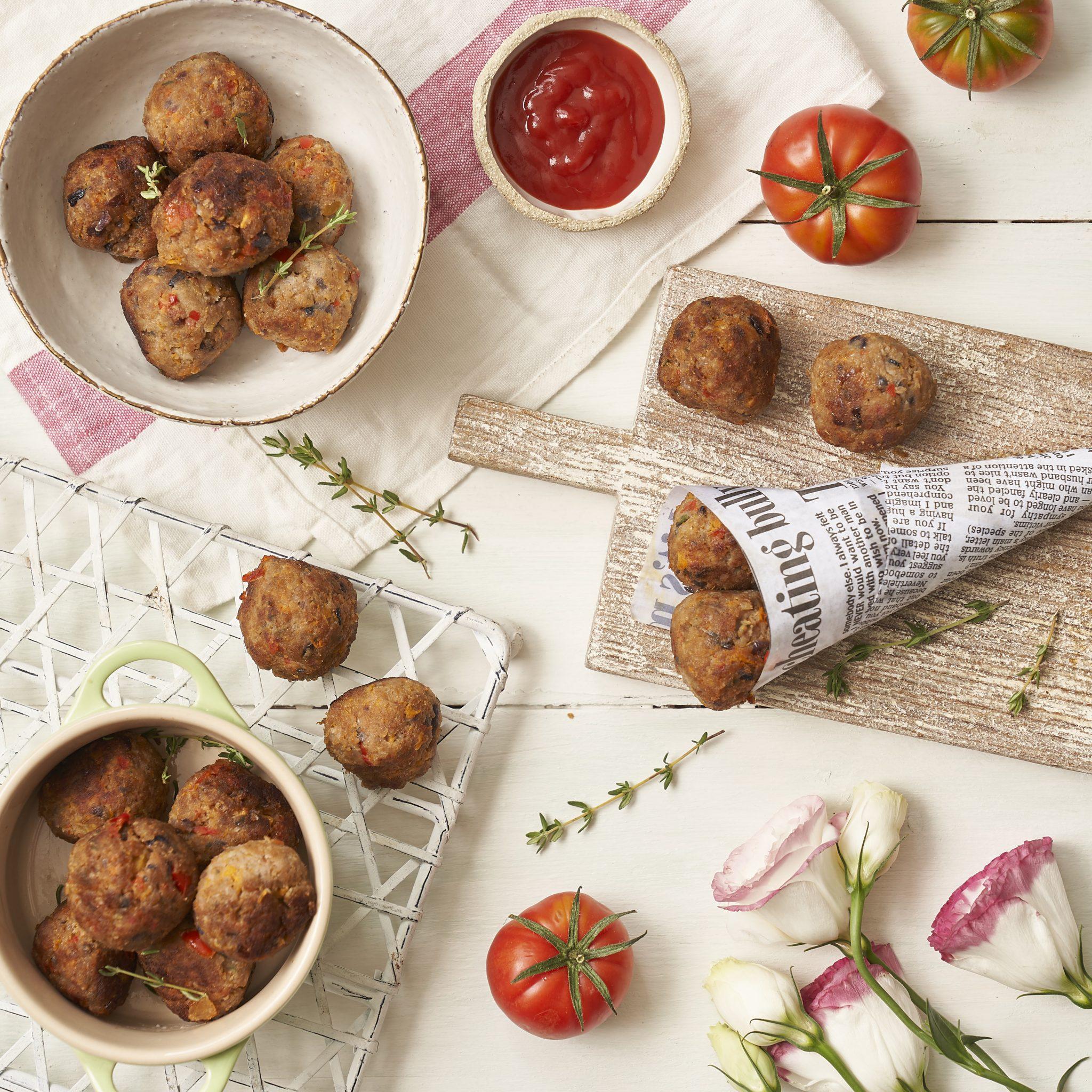 mini meatballs recipe by annabel karmel